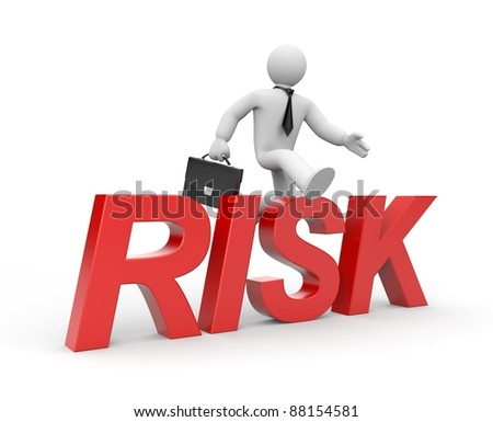 Risk - stock photo