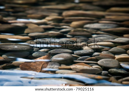 River Bed - stock photo