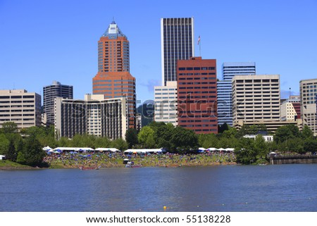 River front park festival.