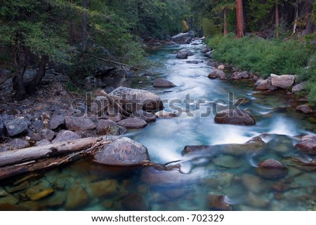 River in King's Canyon National Park