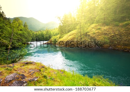 River in mountains #188703677