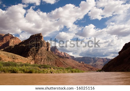 River Raft in Grand Canyon