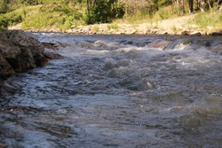 River Rapids near Beavers Bend, Oklahoma