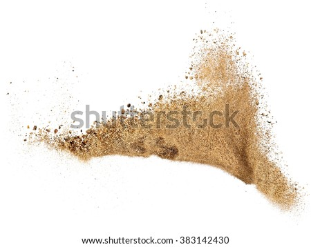 River sand explosion #383142430