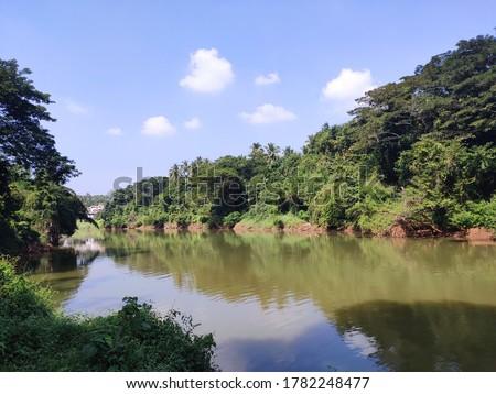 river side location kerala shoot date 21/5/2020 Stockfoto ©