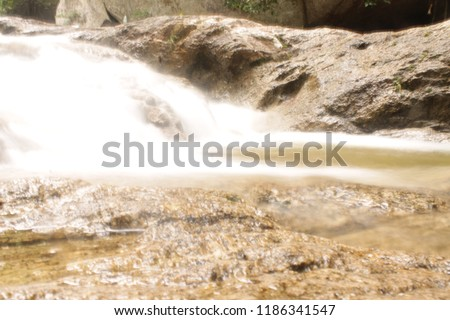 river stream and waterfall #1186341547