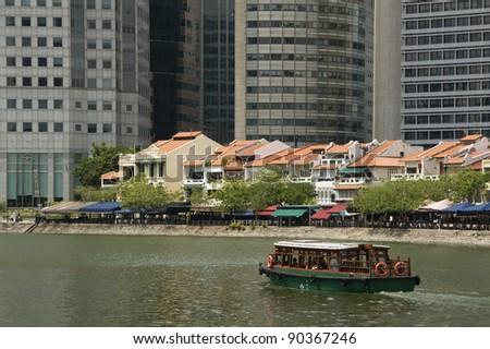 River Taxi, Boat Quay, Singapore