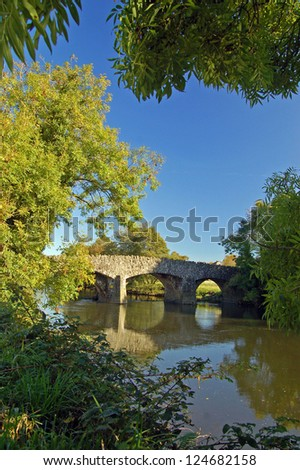 River Torridge Bridge, Taddiport, Torrington, Devon