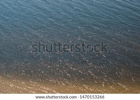 River Volga near Ulyanovsk, Russia, 2018 #1470153266