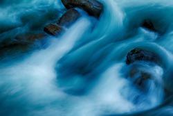 River water closeup