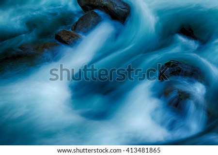 River water closeup #413481865