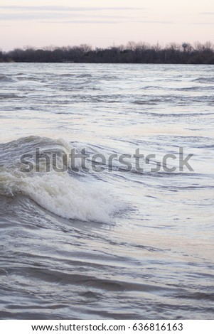 river wave in montreal  quebec  ...