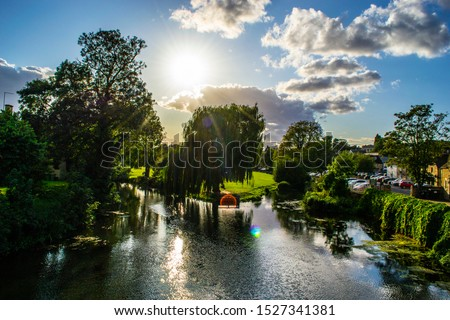 River Welland in Stamford, Lincolnshire, England #1527341381