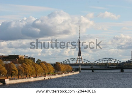 Riverbank of the Daugava (Riga, Latvia)