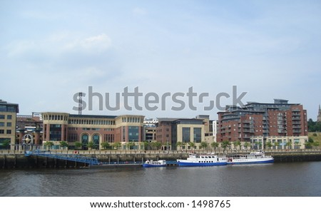 Riverbank Quayside Newcastle
