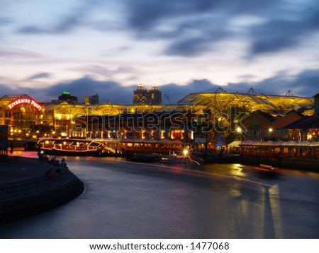 Riverside Point, Clarke Quay, Singapore