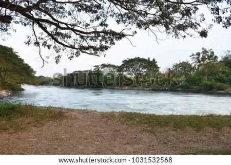 riverside riverbank river #1031532568