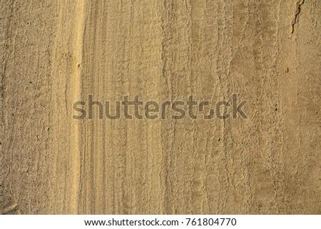 Riverside sand pattern