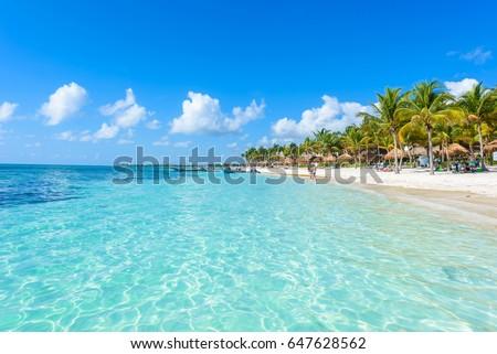 Shutterstock Riviera Maya - paradise beaches at Cancun, Quintana Roo, Mexico - Caribbean coast - tropical destination for vacation
