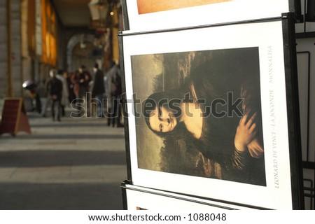 Rivoli street, Paris, France