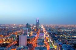 Riyadh skyline at night #7, Capital of Saudi Arabia