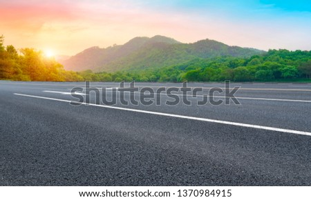 Road and Natural Landscape Landscape #1370984915