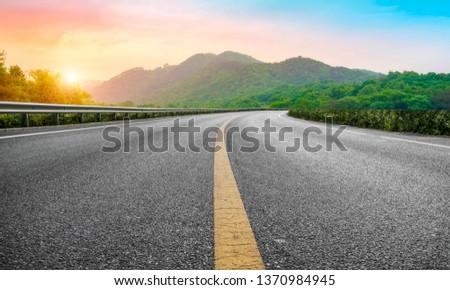 Road and Natural Landscape Landscape #1370984945