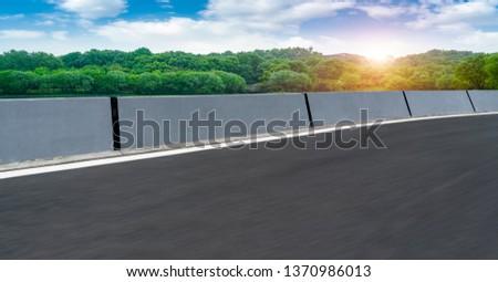 Road and Natural Landscape Landscape #1370986013