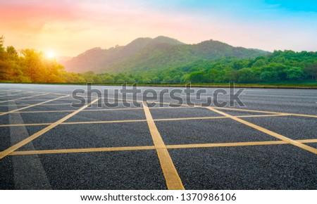 Road and Natural Landscape Landscape #1370986106