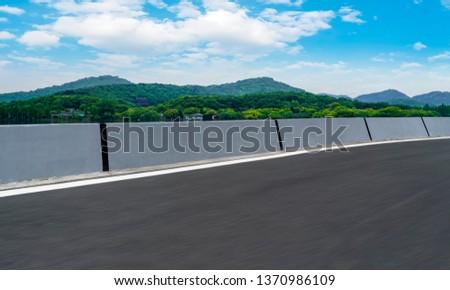 Road and Natural Landscape Landscape #1370986109