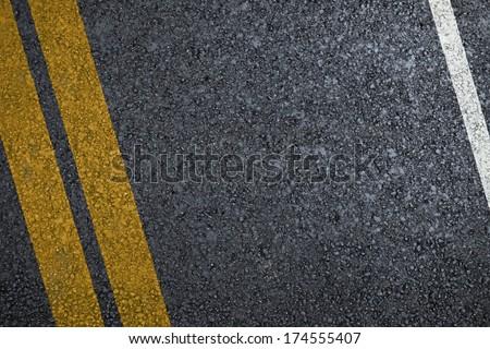 Road asphalt texture with separation lines #174555407