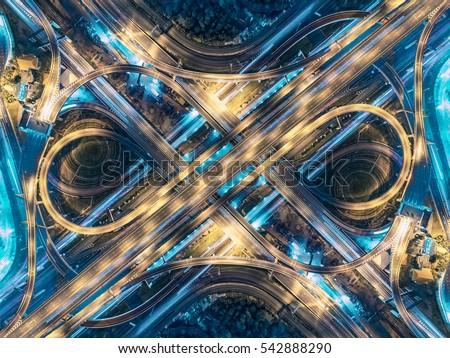 road beautiful aerial view of...