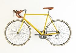 Road Bike Yellow