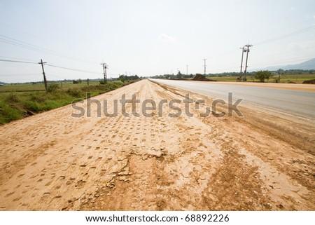 Road Building in Thailand