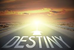 Road concept - destiny