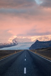 Road in Iceland - Iceland
