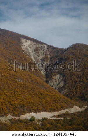 road in mountains #1241067445