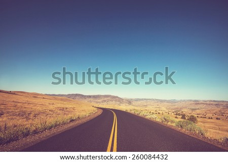 Road in mountains #260084432