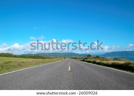road ,long journey
