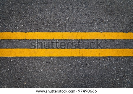 Road Marking - Double Yellow Lines