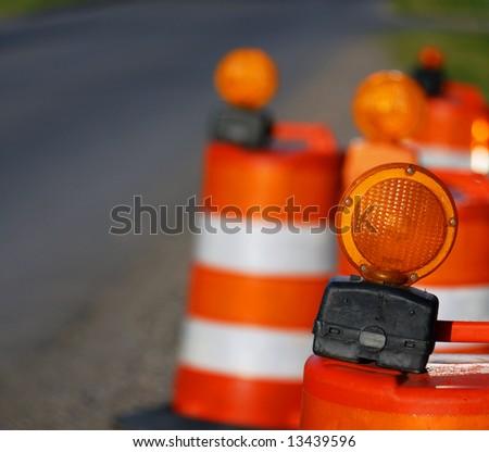 road pylons
