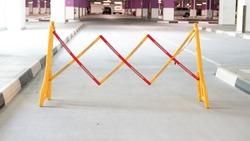 Road Safety Block Traffic Metal Portable Retractable Barricade