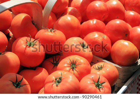 Road side stand Tomatoes
