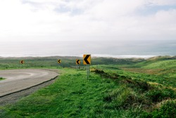 road sign at point reyes