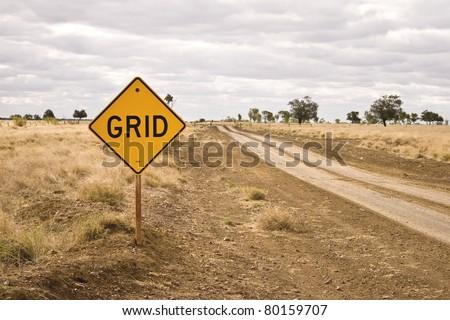 Road sign - Grid
