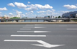 road sign in paris suburbs