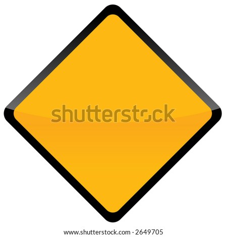 Road sign isolated background on white #2649705