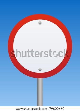 Road Sign - Warning