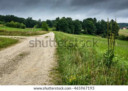 Road.Sky.Storm.Clouds. #465967193