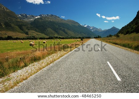 Road to Glenorchy, New Zealand